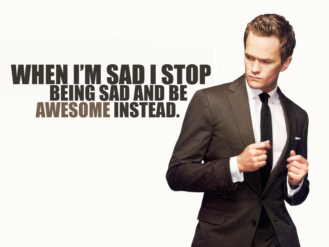 barney singles & personals Barney stinson's fearlessness, brutal honesty, unrelenting optimism, and impeccable sense of style make him a character i can look up to  stop missing dating .